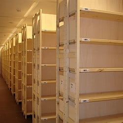 rangerek archiefstellingen