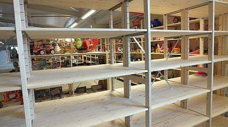 houten stellingen stichting rataplan project