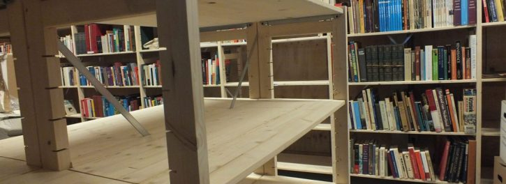 archos houten rekken
