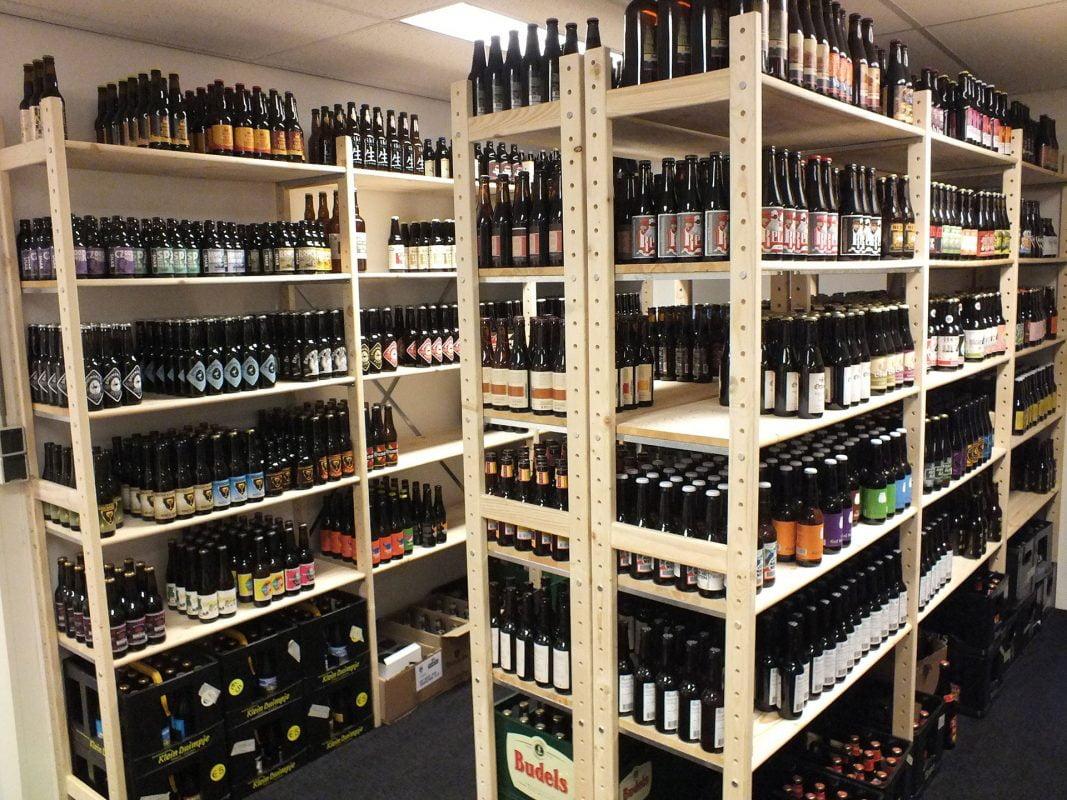 magazijninrichting wijnstellingen